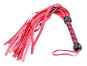 Red Leather Flogger
