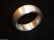 Engraved Aluminum Donut Cock Ring