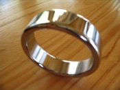 Thick Chrome Band Cock Ring