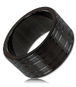 Titanium Black Chief SS Cock Ring