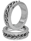 Chain Link SS Cock Ring