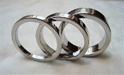 Polished Stainless Steel Band Cock Rings