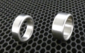 Brushed Stainless Steel Head/Shaft Rings