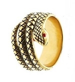 Gold Cobra Glans Head/Shaft Ring